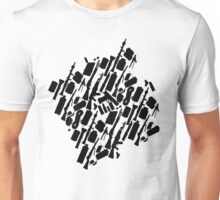 Zombie Apocalypse Checklist pattern Unisex T-Shirt