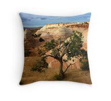 Escalante Tree Throw Pillow
