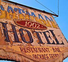 Oatman Hotel Sign by tvlgoddess