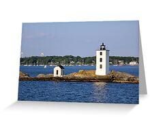 Dutch Island Light 2 Greeting Card
