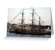 Tall Ship 1 Greeting Card