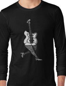Lady Guitar Long Sleeve T-Shirt