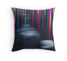 Record Sleeve for an Imaginary Band - Progressive Rock  Throw Pillow