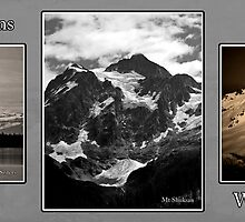 monochrome mountains of whatcom county by dedmanshootn