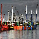 A Patchwork of Fishing boats by Poete100