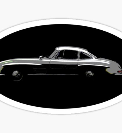 MERCEDES BENZ 300sl GULLWING Sticker