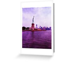 liberty Island Greeting Card