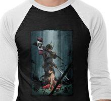 Samurai and Geisha Men's Baseball ¾ T-Shirt