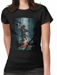 Samurai and Geisha Womens Fitted T-Shirt