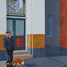 The Familiar, 2012, Oil on Linen, 61x46cm, 2012. by Jason Moad