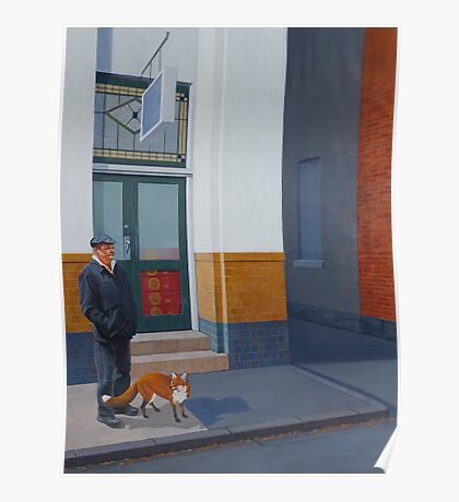 The Familiar, 2012, Oil on Linen, 61x46cm, 2012. Poster