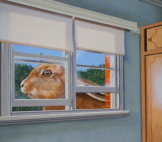 Half Asleep, 2013, Oil on Linen, 40.5x45.5cm by Jason Moad