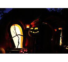 Jack-O-Lanterns Photographic Print