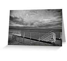 The Lonely Sea Greeting Card