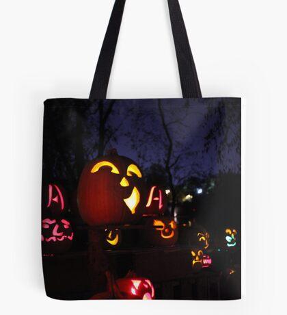 Jack-O-Lanterns 2 Tote Bag