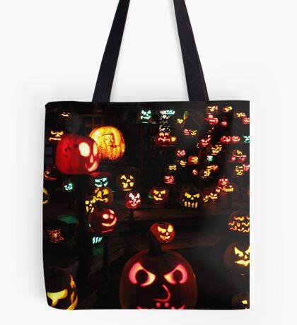 Jack-O-Lanterns 4 Tote Bag