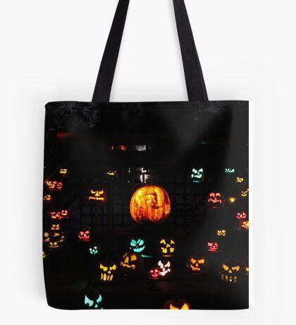 Jack-O-Lanterns 5 Tote Bag