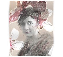 Flower Lady Poster