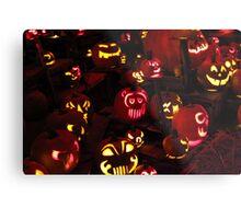 Jack-O-Lanterns 6 Metal Print