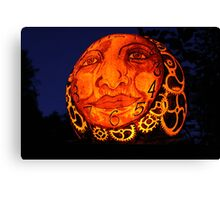Jack-O-Lantern 3 Canvas Print