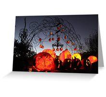 Jack-O-Lanterns 8 Greeting Card