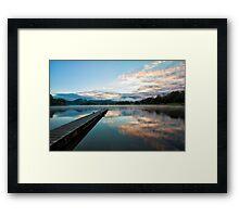 Lake Okareka, North Island, New Zealand Framed Print