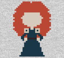 8-Bit Merida by rebeccaariel