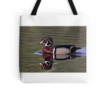 Wood Duck in the sun Tote Bag
