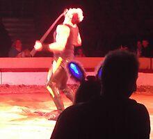 Circus/Russian Strongman VII -(150413)- Digital photo/FujiFilm AX350 by paulramnora