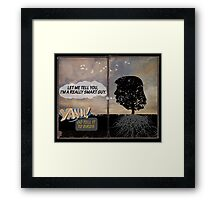 Chapter 2. Wisdom Tree Oracle Framed Print
