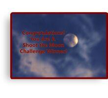 Banner - STM - Challenge Winner Canvas Print