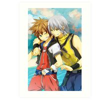 Kingdom Hearts Art Print