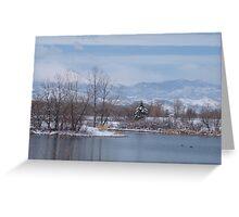 Winter (Alias Sprintime) Greeting Card