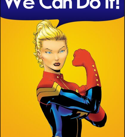 Carol the Riveter Sticker