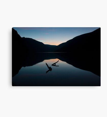 Glendalough Dusk (Landscape Version) Canvas Print