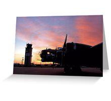 North Texas Regional Airport - B17 Greeting Card