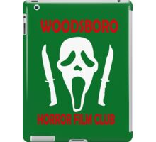 Woodsboro Horror Film Club funny nerd geek geeky iPad Case/Skin