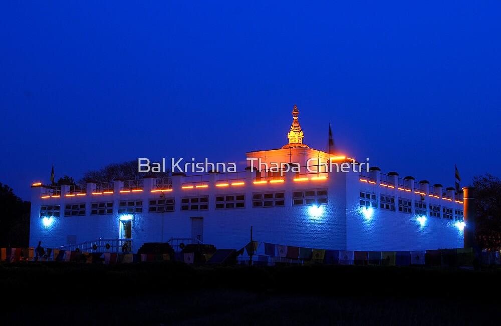 Historical Mayadevi temple by Bal Krishna  Thapa Chhetri