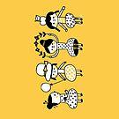 Doodle Girls by HappyDoodleLand