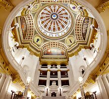 Pennsylvania State Capitol Rotunda by Mark Van Scyoc