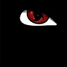 Sasuke Eye - iPhone case by squidkid