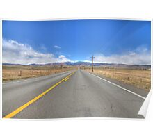 Nelson Road, Longmont, CO Poster