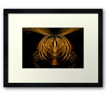 Flight of a Bumble Bee Framed Print