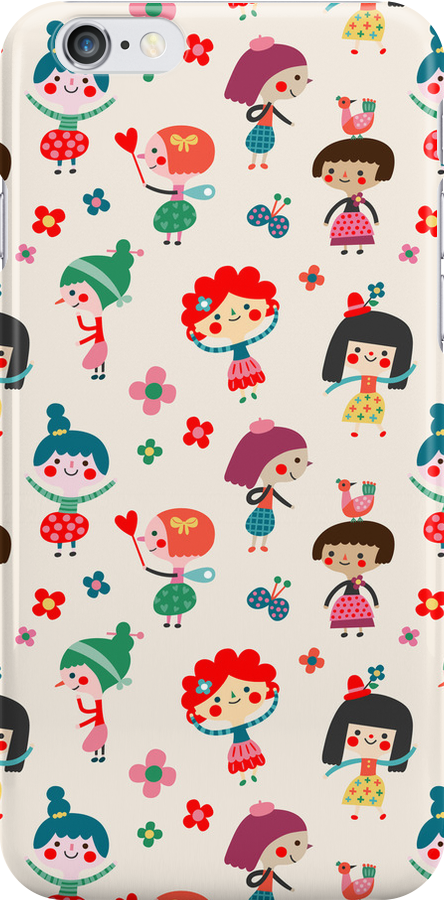 Happy Girls by HappyDoodleLand