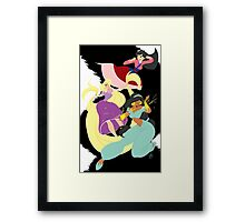 Super Princesses  Framed Print
