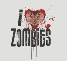I Love Zombies by BevsUK