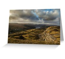 Brecon Beacons National Park, Wales, Uk Greeting Card