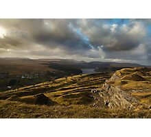 Brecon Beacons National Park, Wales, Uk Photographic Print