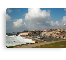 Overview of Jaffa Canvas Print