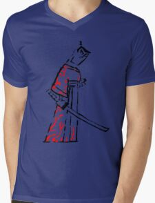 Ink Samurai Mens V-Neck T-Shirt